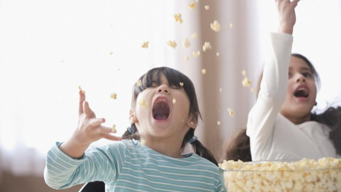 Does popcorn contain starch?