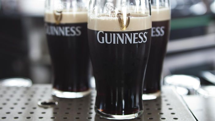 What Is the Alcohol by Volume Percentage of Guinness Extra Stout?