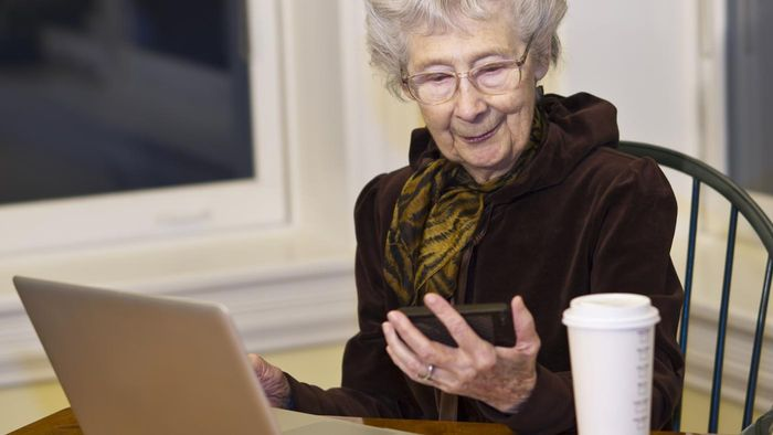Is There an Online Community for Old Women?