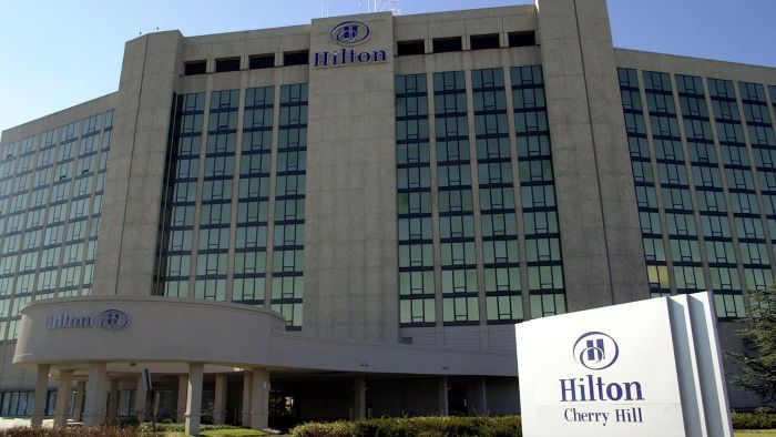 Who is the owner of Hilton Hotels?