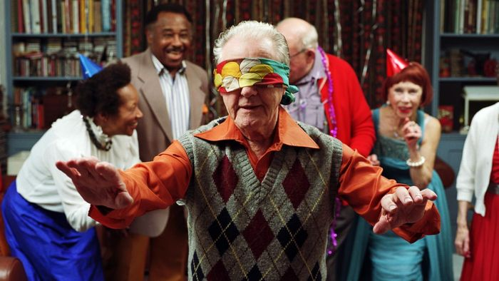 What are some party games for senior citizens?
