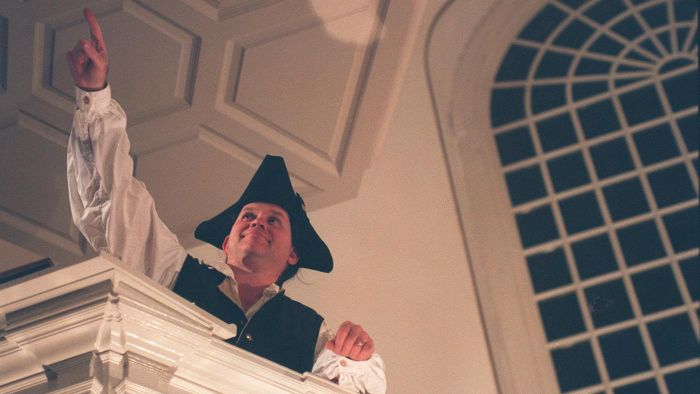 What was Paul Revere's childhood like?