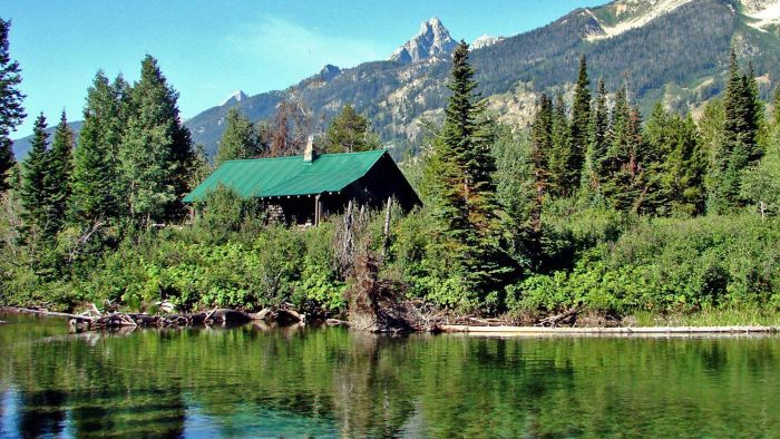 Are Free Plans Available for Small Mountain Cabins?
