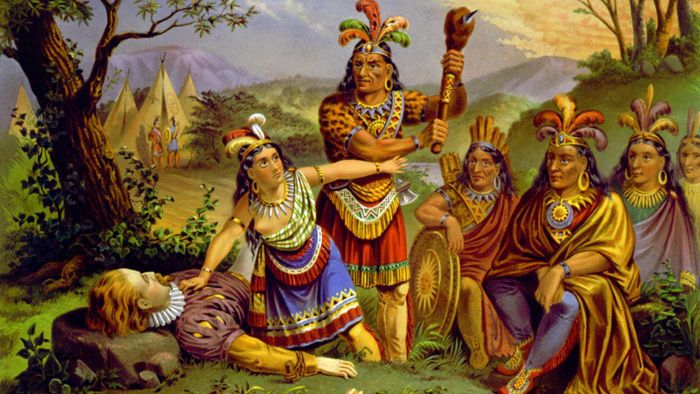 What Is Pocahontas Famous For?