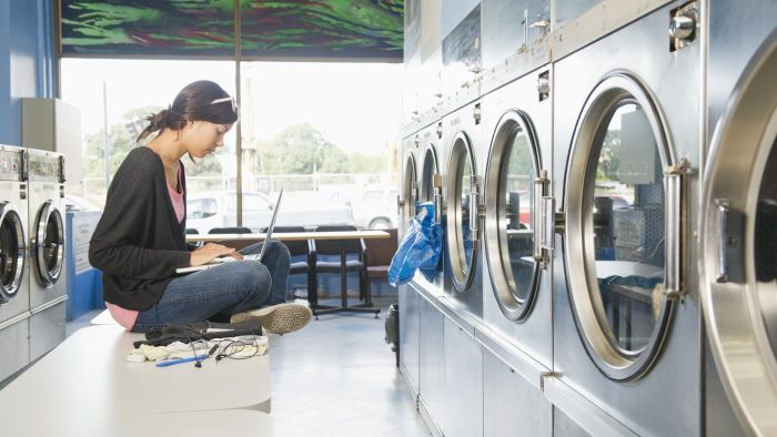 What Are the Precautions That Should Be Taken When Using Public Laundromats?