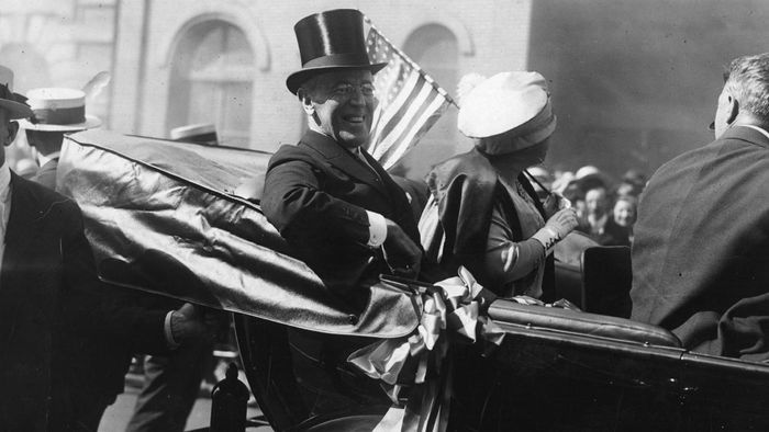 Who Proposed the New Freedom Program in the 1912 Election?