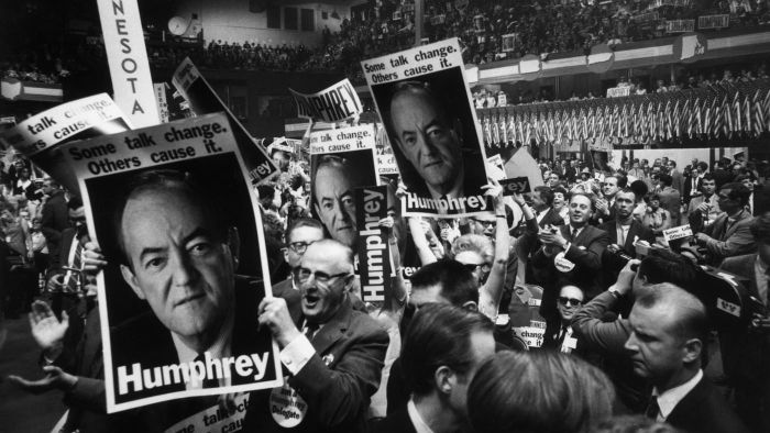Who Ran in the 1968 Presidential Election?