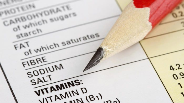 How Do You Read a Food Nutrition Label?