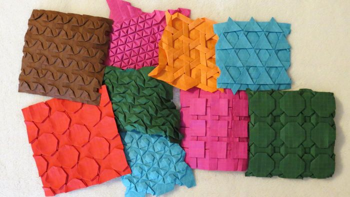 What are some real-life examples of tessellations?
