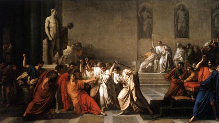 a comparison of decius brutus and mark antonys eulogies Get an answer for 'what is the basic difference between the two funeral orations of brutus and mark antony' and find homework compare and contrast the funeral.