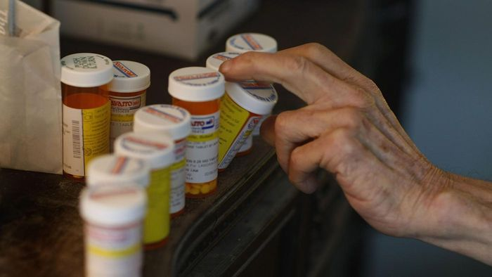 How do you recycle old medicine bottles?