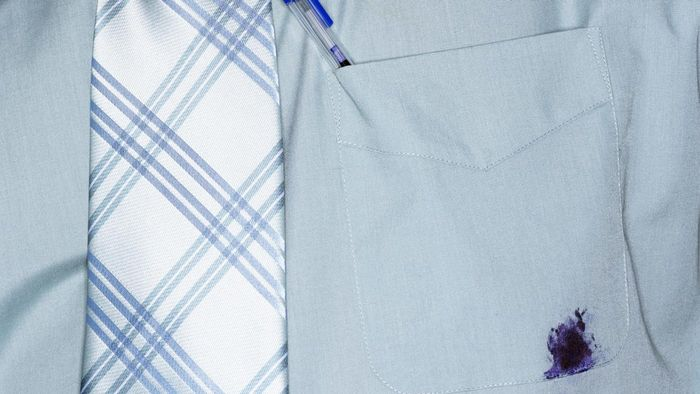 How do your remove ink stains from fabric?