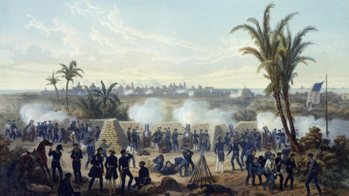 What was the result of the Mexican American War?