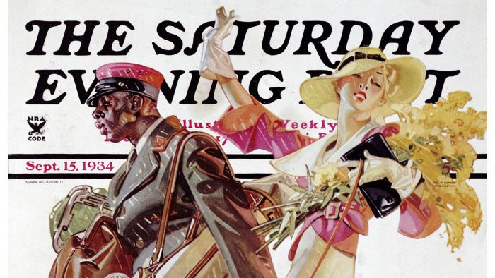 Who Illustrated Saturday Evening Post Covers?