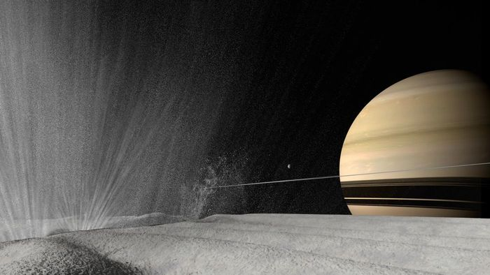 Is Saturn hot or cold?