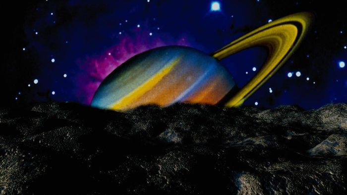What Is Saturn's Surface Made Of?