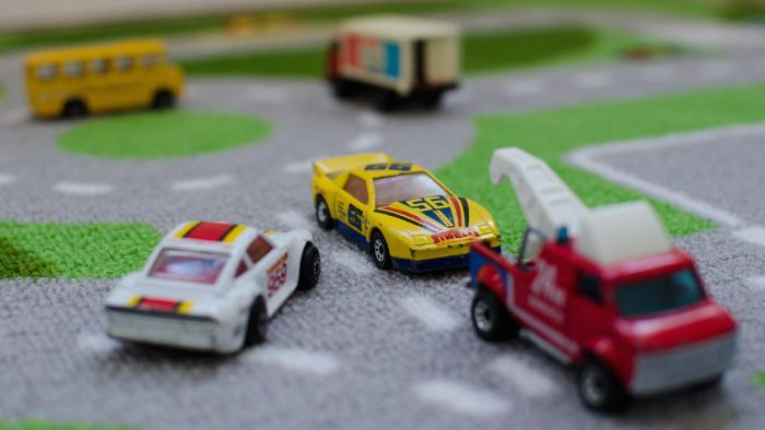 What scale are matchbox cars?