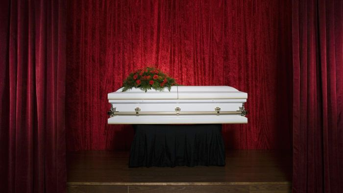 What should one say at a funeral?