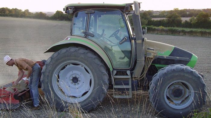 Should you reuse old tractor tires or put them up for sale?