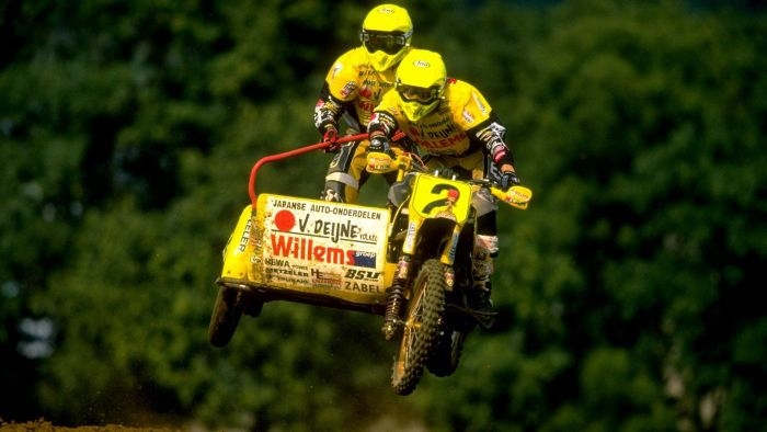 Where is sidecarcross popular?