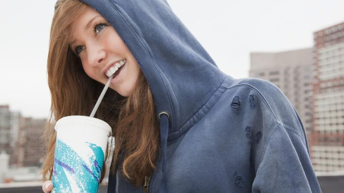 Why does soda stain your teeth?
