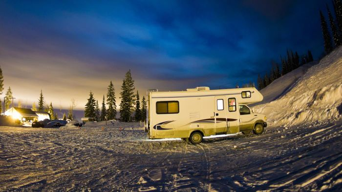 Are There Special Salvage Auctions for Motor Homes?