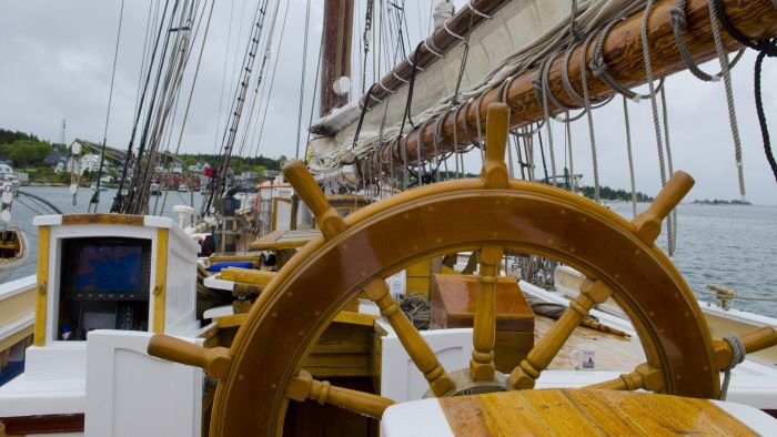 What Is the Steering Wheel of a Ship Called?