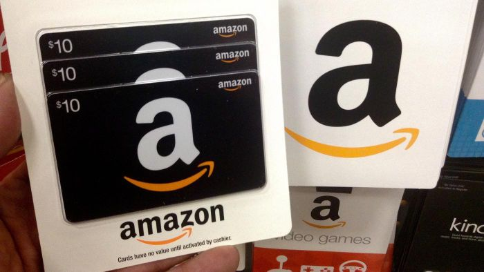 What Stores Sell Amazon Gift Cards?