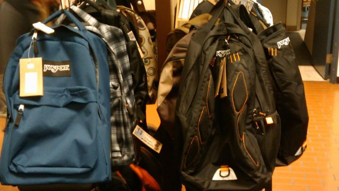 What stores sell JanSport backpacks?