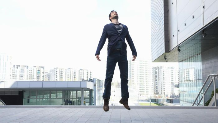 How Do Street Magicians Levitate?