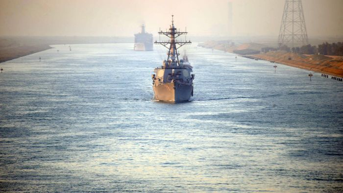 What Does the Suez Canal Allow?