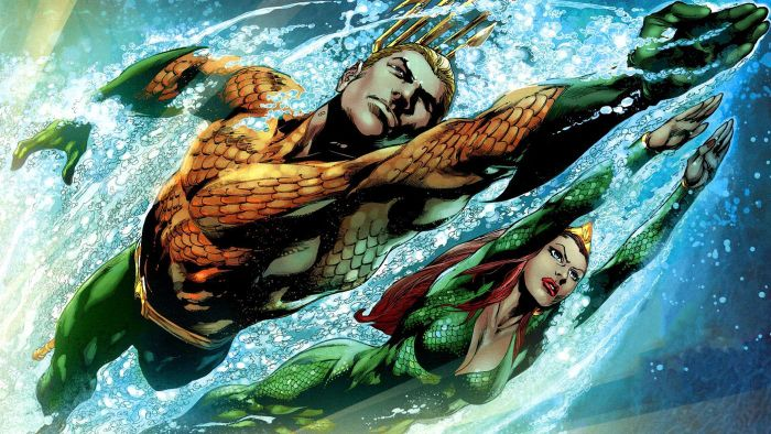 Which superheroes can breathe underwater?