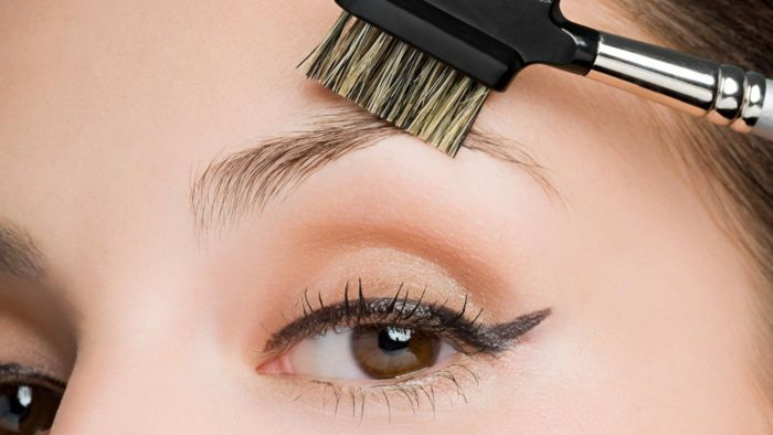 How do you trim your eyebrows?