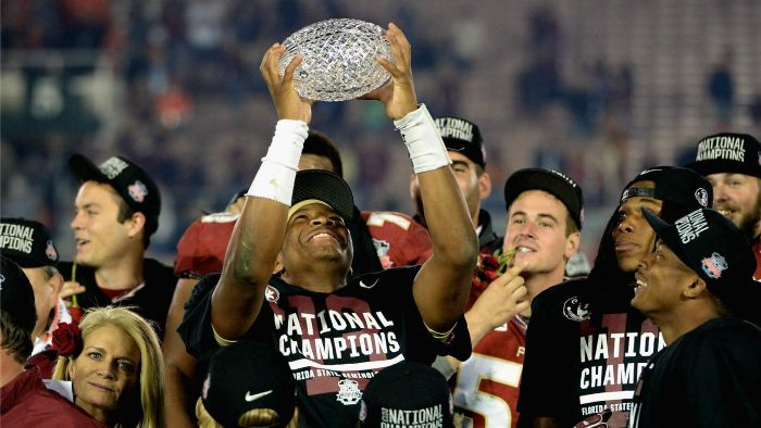 What Trophy Is Given to the Winner of the BCS National Championship?