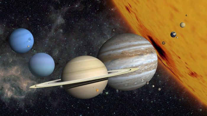 Which Two Planets Are the Only Ones in the Solar System to Have No Moons?