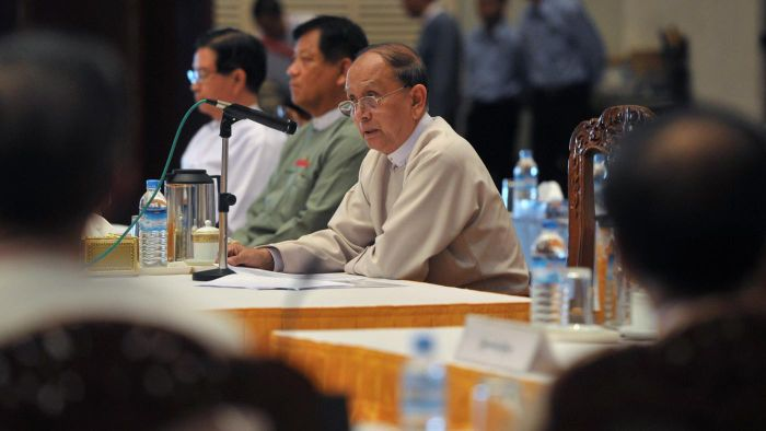 What type of government does Myanmar have?
