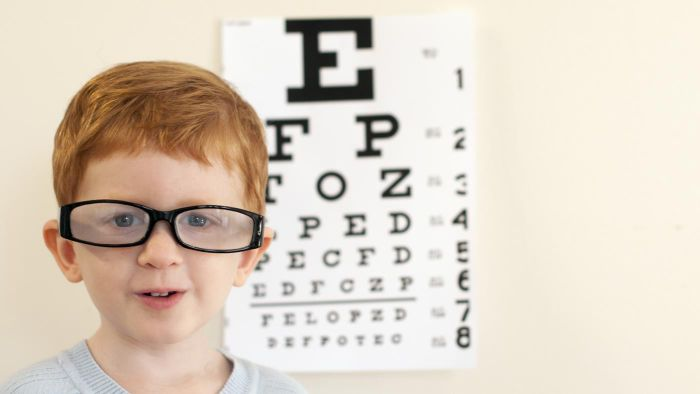What types of eye diseases are most common among children?