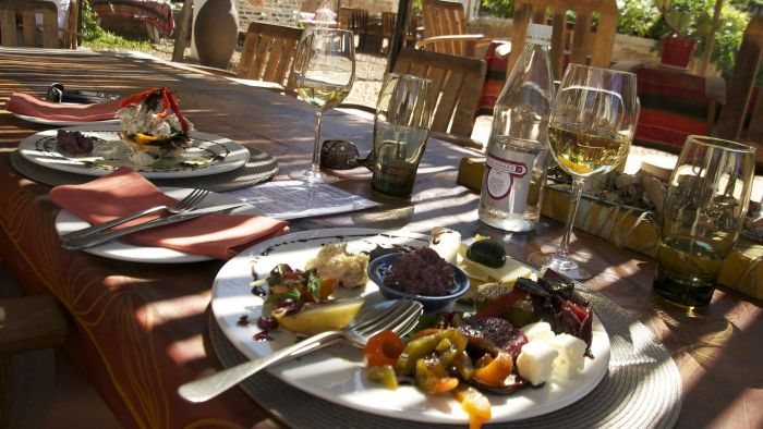 What types of foods are traditional in South Africa?