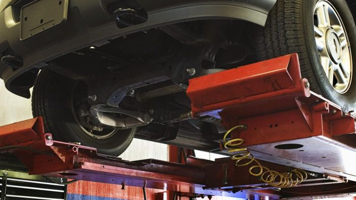 What Is Undercarriage Damage?