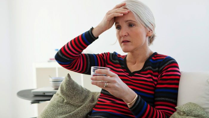 What are urinary problems that occur after menopause?
