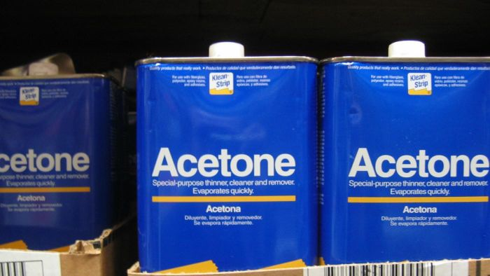 What Are Some Uses for 100 Percent Acetone?