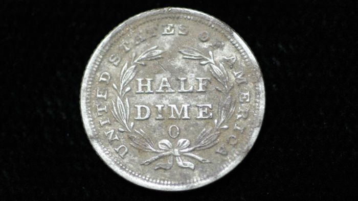 What is the value of a half dime?