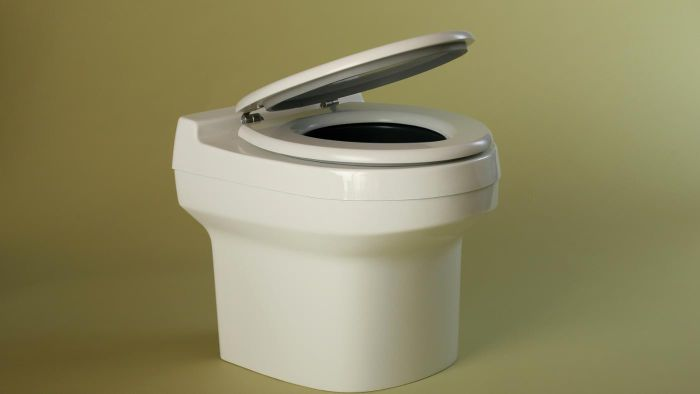 How do waterless toilets work?
