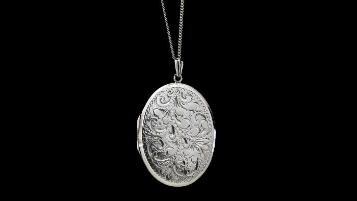 What is the best way to clean silver necklace?