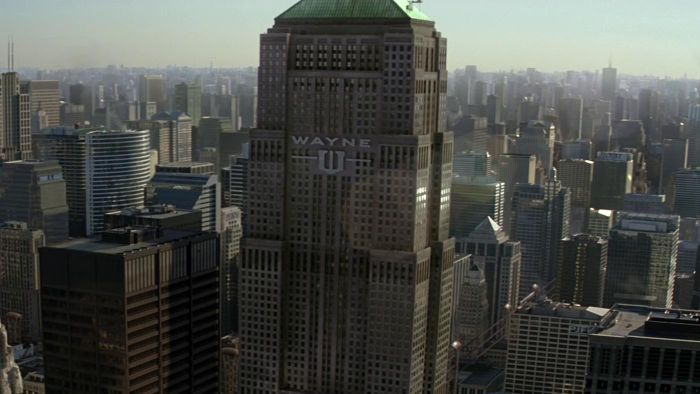 What does Wayne Enterprises do?