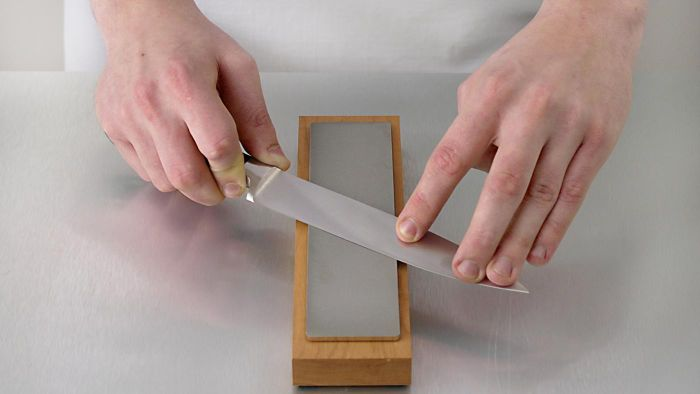 What Are Some Ways to Sharpen a Knife Using a Sharpening Stone?
