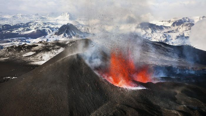In What Ways Are Volcanoes a Constructive Force?