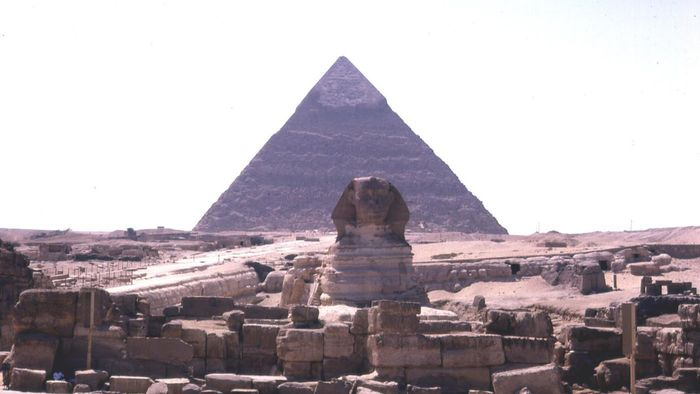 When Were the First Egyptian Pyramids Built?