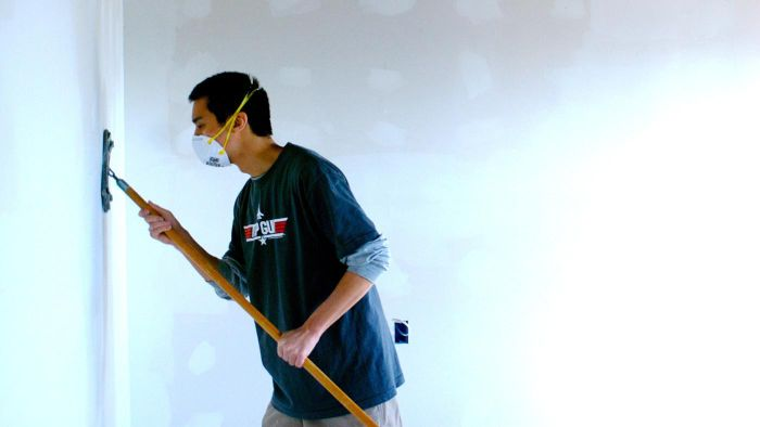 Is Wet Sanding Drywall Safe?