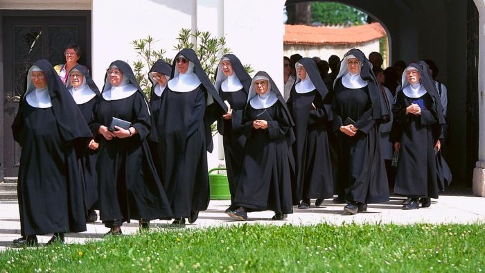What Is a Group of Nuns Called?